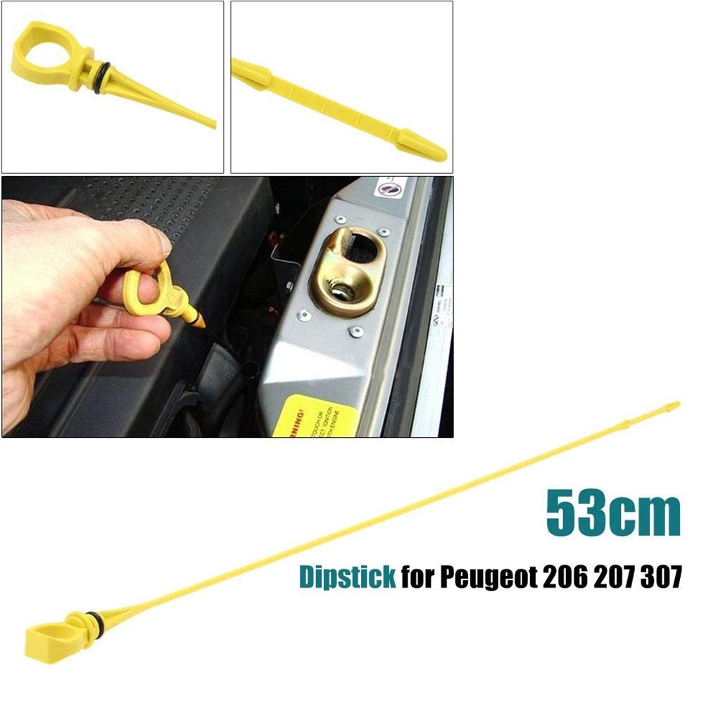 Fangfeen Car Vehicle Engine Oil Fluid Level Dipstick Replacement For Peugeot 206 207 307//Citroen C2 C3 1174.85