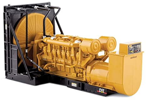 Norscot Cat 3516B Engine Generator Set 1:25 scale (Yellow) 3 pieces Toy Cars & Trucks at amazon