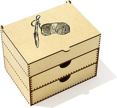 Aguja de Tejer y Lana Caja de Maquillaje (VC00014684): Amazon.es: Juguetes y juegos
