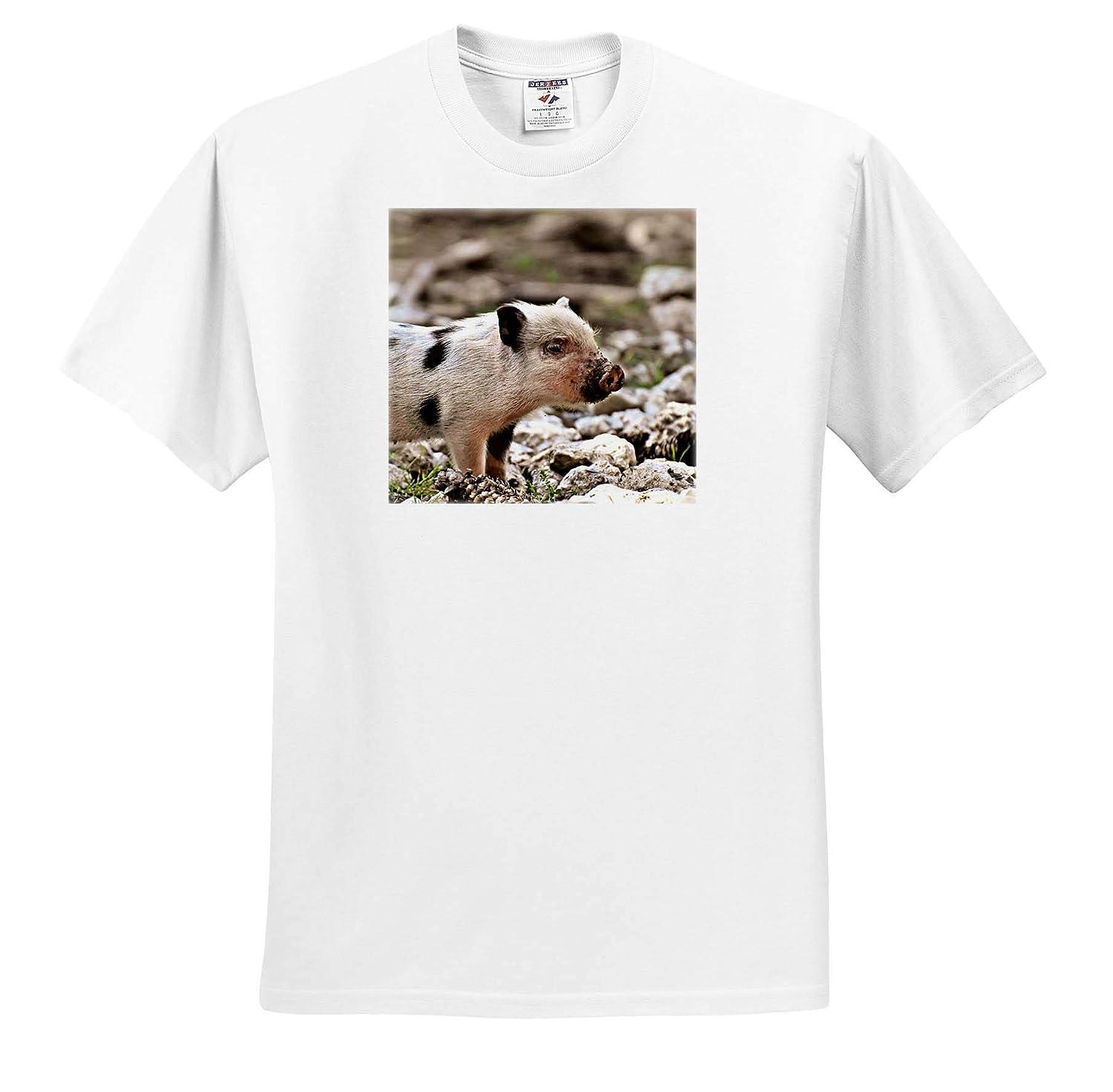 T-Shirts Pig Piglet Farm Animal in The Wildlife Nature 3dRose Sven Herkenrath Animal