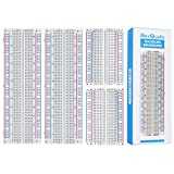 4PCS Breadboards Kit Include 2PCS 830 Point 2PCS