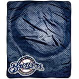 "Officially Licensed MLB Retro Raschel Throw Blanket, Soft & Cozy, Washable, Throws & Bedding, 50"" x 60"""