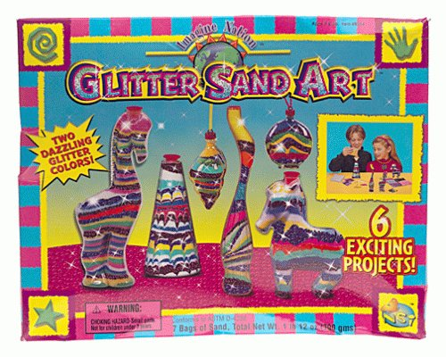 Imagine Nation Glitter Sand Art