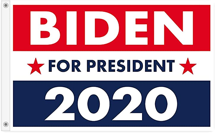 Amazon Com D A Biden Harris 2020 Yard Sign Flag The 45th U S President Flags 3x5 Feet Flagpole Not Included Garden Outdoor
