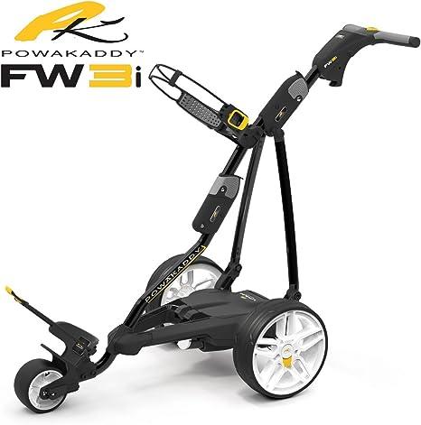 Powakaddy fw3i negro carro de golf eléctrico + 18 HOLE batería de litio + Estuche GRATIS.: Amazon.es: Deportes y aire libre