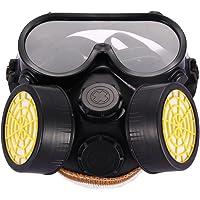 Set van ademhalingsmasker en veiligheidsbril, anti-stofbescherming, spuitkleurbescherming, voor industrieel gebruik met…