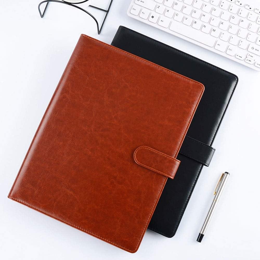 tragbarer Schreibblock vielseitiger Ordner for Unternehmen Farbe : Blau Ordner for Informationsb/ücher Klemmbrett A4 Ordner for Office-Besprechungsdateien