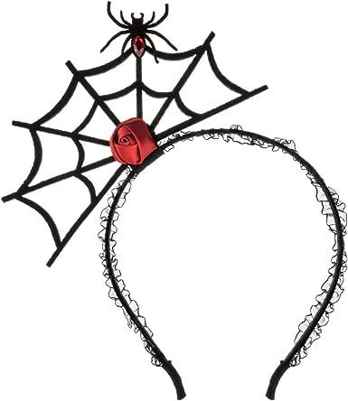 Kids Spider Headpiece Headband Hair Hoop Halloween Cosplay Party Headwear