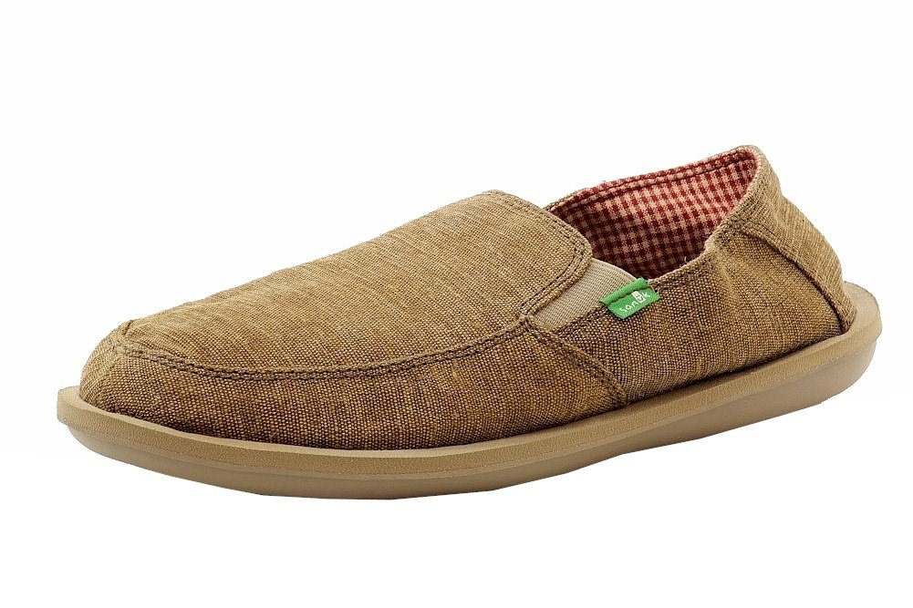 Sanuk Men's Vice Slip On, Brown Vintage, 12 M US