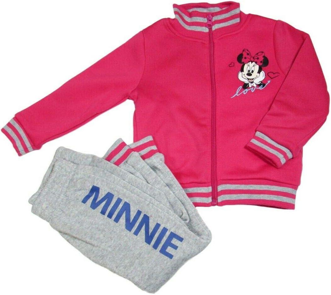 takestop® - Chándal de Gimnasia de Minnie Mouse con Cremallera y ...