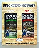 Dan-O's Seasoning Gift Pack, Low Sodium means the right amount of salt. No Sugar, No Chemicals. Find out why people say it's Dan Good!