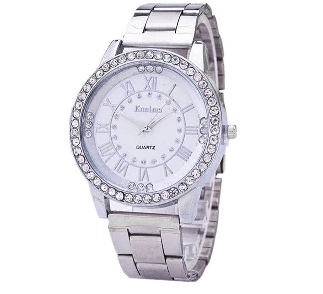 Amazon.com: photno Crystal Rhinestone acero inoxidable ...