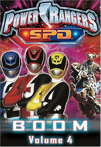 Power Rangers SPD - Boom (Vol. - Ranger Videos Power Spd