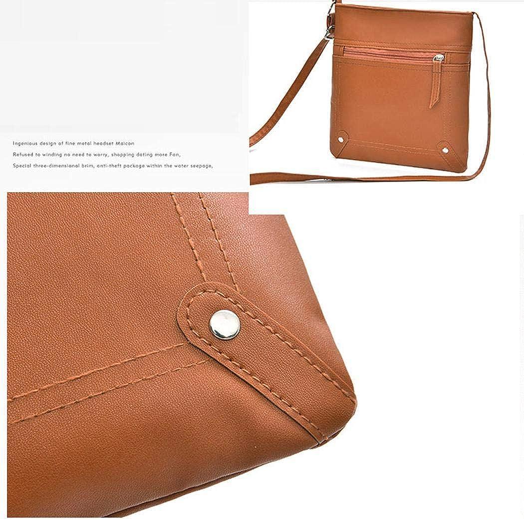 Zippem Women Fashion Vintage Style Shoulder Messenger Bag Shoulder Bags
