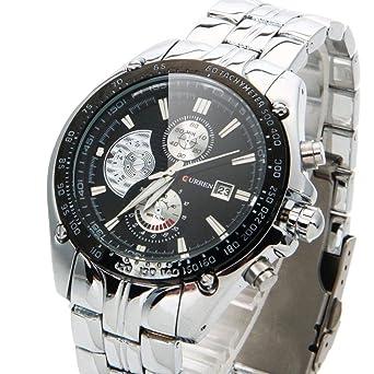 Amazon.com  Relojes De Hombre Curren - Relojes Deportivos De Lujo ... 058d732bd7d0