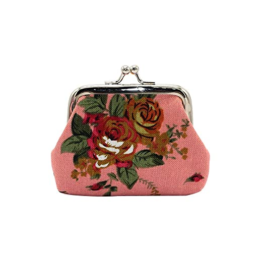 JUNGEN Monedero Vintage para Mujer Mini Cartera Billetera ...