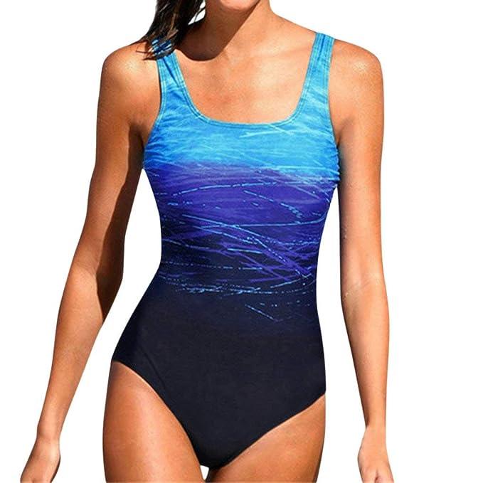 Bikinis Tallas Grandes Mujer Mono Camisolas Tangas Sexys Mujer Verano Playa Vacaciones Traje de baño una Pieza Bañadores de Mujer Natacion 1pc: Amazon.es: ...