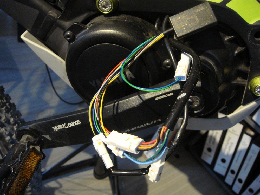 Baujahr 2014-2018 Radsport Speedchip eBike Tuning Tuningmodul für Yamaha PW-X Motoren