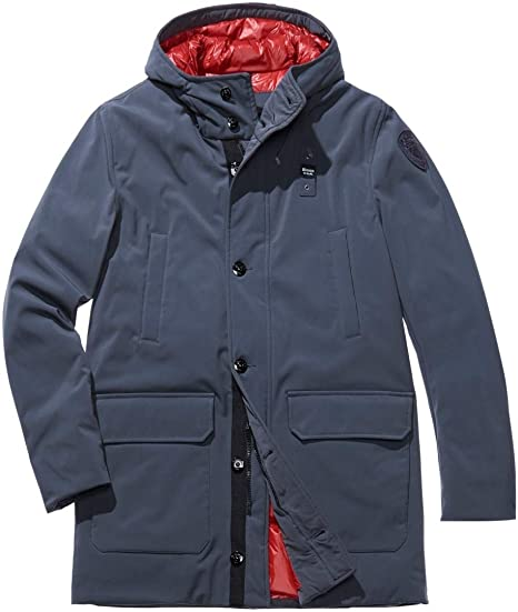 Blauer USA Herren Mantel ImpermeabileTrench Lunghi