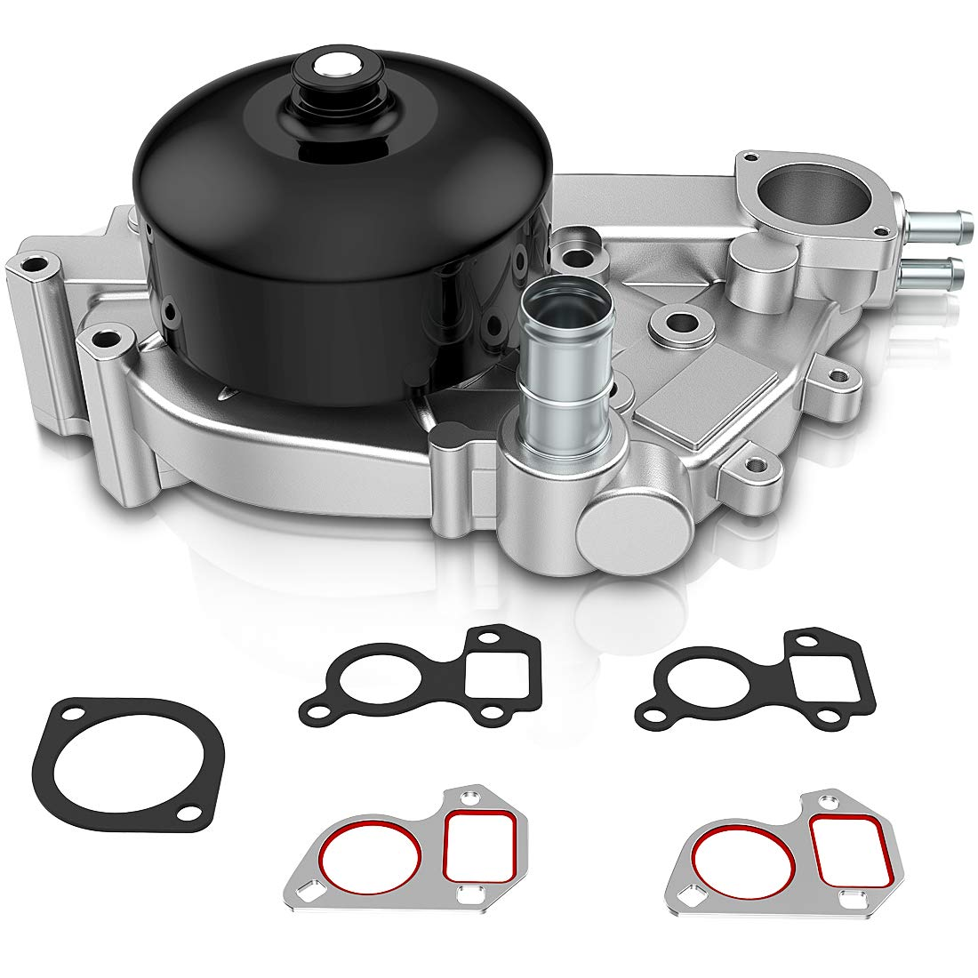 Water Pump with Gaskets For Chevy Small Block Gen III/IV (LS-based Engines) V8 5.7L/350 6.0L/364 19256263 AUTOSAVER88