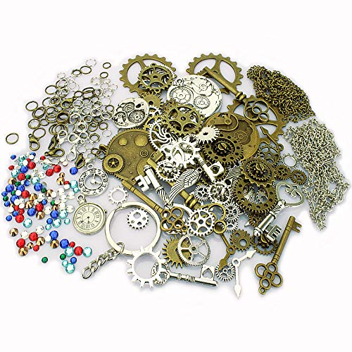 LolliBeads%EF%BC%88TM%EF%BC%89Antiqued Rhinestones Clockwork Steampunk Kits%EF%BC%88320pcs product image