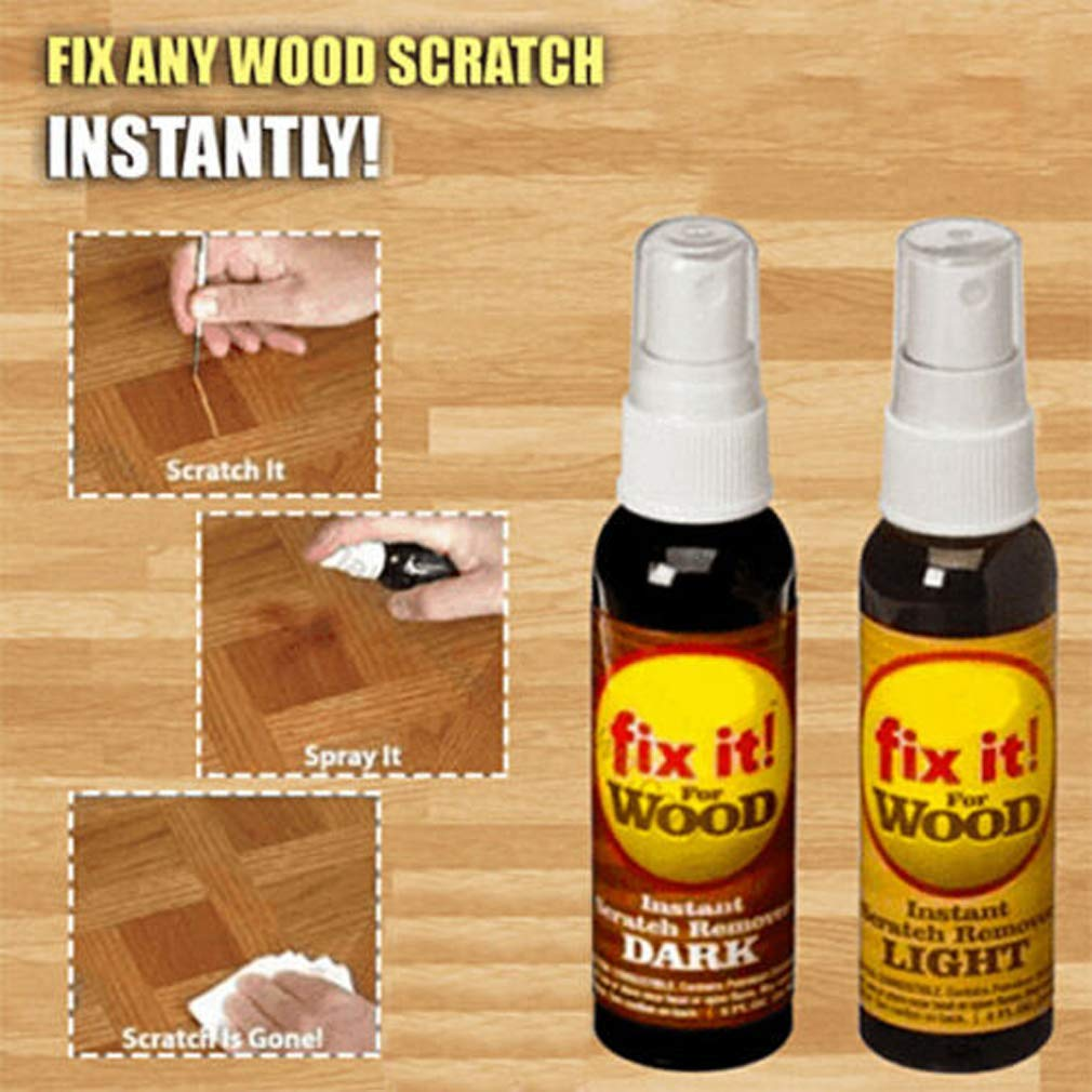 4PCS Instant Fix Wood Scratch Remover Set Fast Acting Wood Scratch Repair by Maikoa