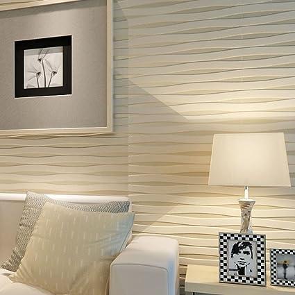 Papel Pintado A Rayas Para Paredes 3 D Pared Casa Decoracion Sala De - Papeles-de-decoracion-para-paredes