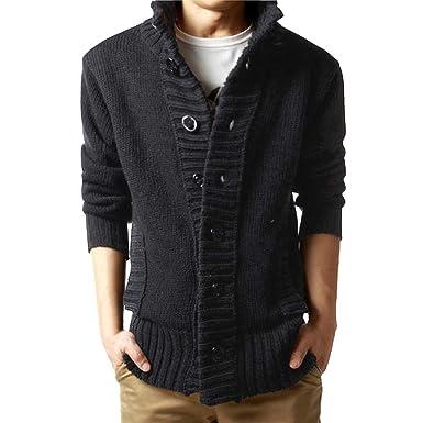 Lilicat Herren Wintermantel Winter Jacke Strickjacke Retro Pullover Vintage  Pullover Camouflage Bluse Mantel Shirt Top Sweatshirt 629cc3a868