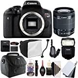 Canon EOS Rebel T6i 24.2MP Digital SLR Camera with 18-55mm EF-IS STM Lens , 430EX lll Non RT Flash and Accessory Kit