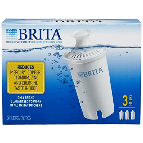 brita water filter replacement. Brita Water Pitcher Replacement Filters, White 3 Ea Filter A