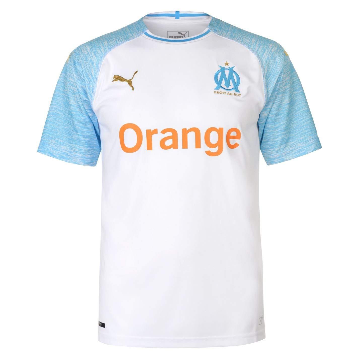Puma Herren Olympique De Marseille Home Shirt Replica Ss Trikot
