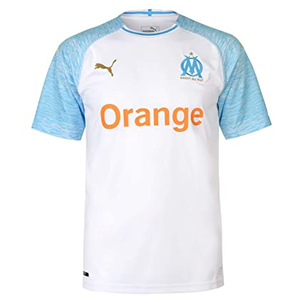 finest selection a0630 1207b Amazon.com : PUMA Olympique Marseille Home Jersey 2018/2019 ...