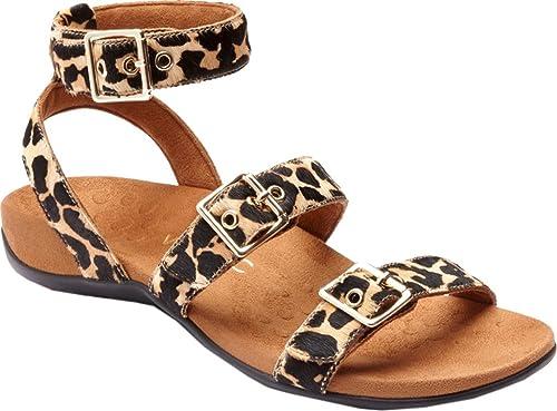 c278a3b12400d Vionic Womens Rest Sahara Backstrap Sandal Tan Leopard Size 10 ...
