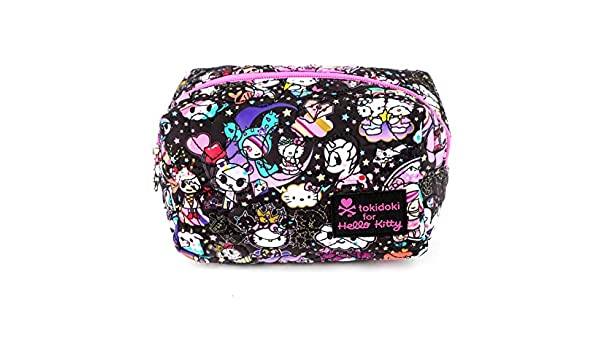 c0b228b70c6 Amazon.com   tokidoki x Hello Kitty Pouch  Cosmic   Beauty