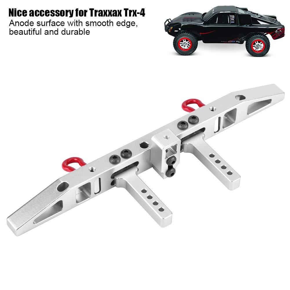 Neufday Aluminium Hecksto/ßstange Antikollision Aluminium Hecksto/ßstange f/ür Traxxax TRX-4 RC Crawler Cars rot