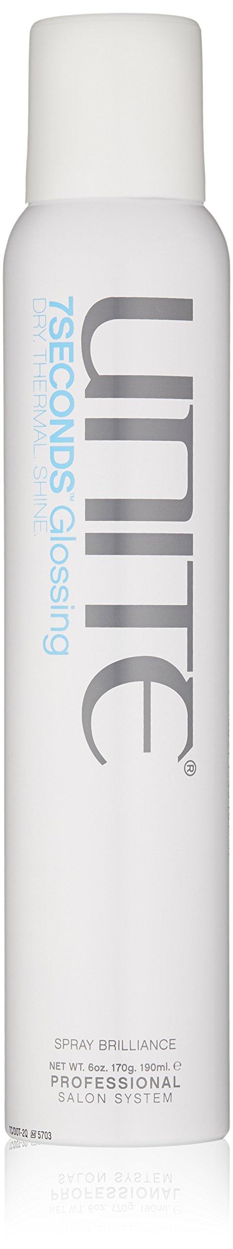 UNITE Hair 7 Seconds Glossing Spray, 6 Oz