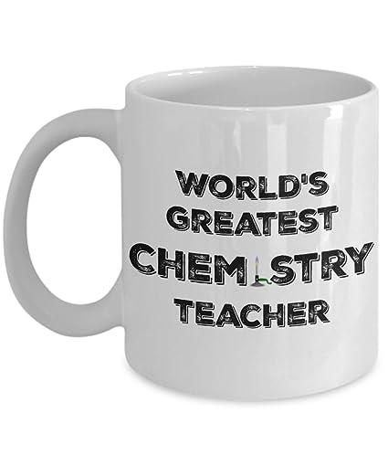 Amazoncom Chemistry Teacher Gifts Mug Teacher Appreciation Gift