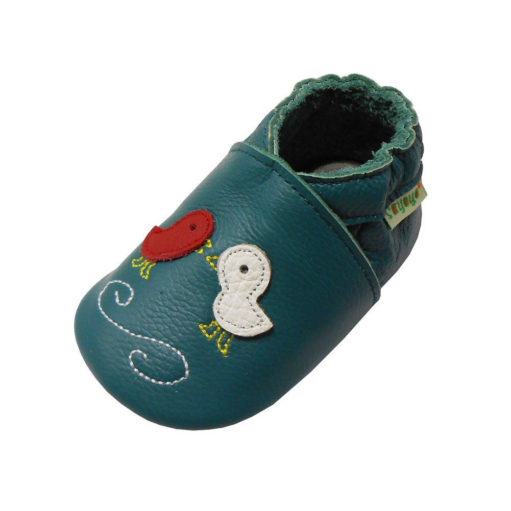 Sayoyo Mignon Enfants Toddler Anti-dérapant Semelles souples Chaussures pour bébé cuir