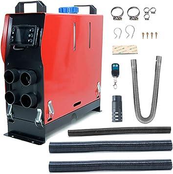 Calentador de estacionamiento de autom/óviles di/ésel Control remoto Remolque de caravanas Partes de control remoto Calentador de combustible Calefacci/ón del autom/óvil Silenciador Monitor LCD
