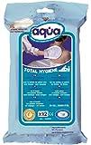 Aqua Total Hygiene toilette inumidito senza risciacquo guanti (12 guanti pacchetto)