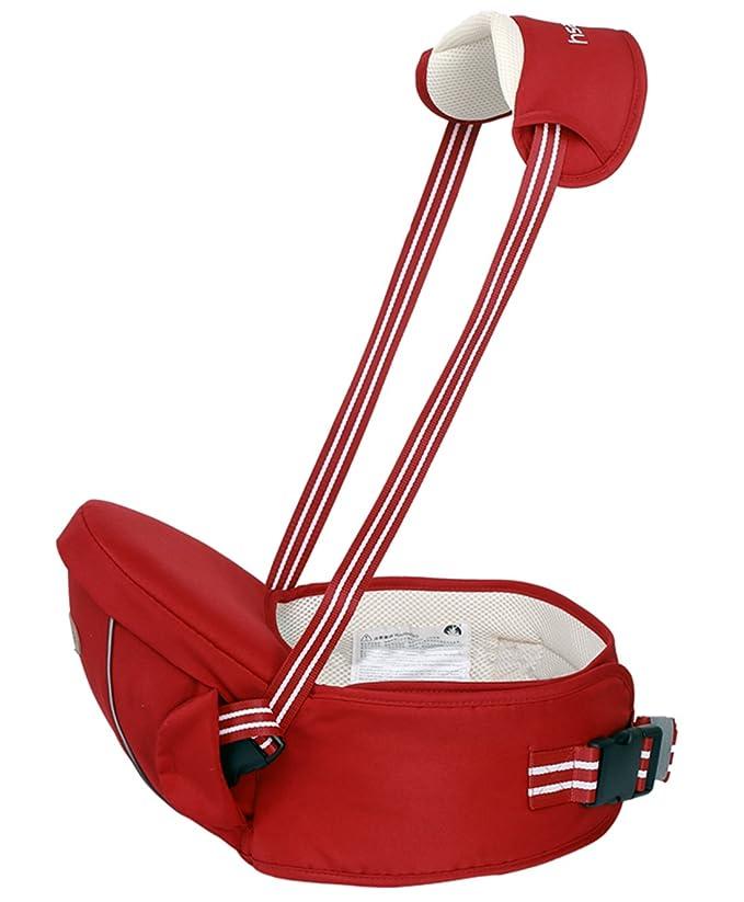 Gabesy Porte-bébé Ventral Respirant Ergonomique avec Bandoulière Ceinture  Réglable Multi Positions Confortable pour Bébés de 4 à 36 Mois - Rouge   Amazon.fr  ... 76fc0cf6cc8