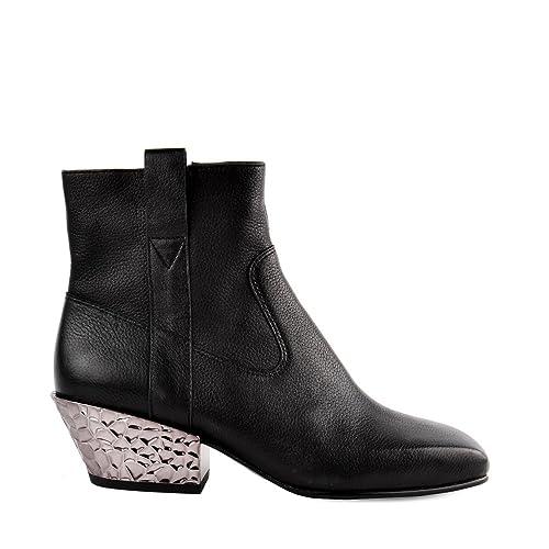 Ash Footwear Zapatos Gang bis Botines de Ante Negro Mujer: Amazon.es: Zapatos y complementos