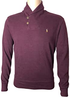 Polo Ralph Lauren Mens Cable Knit 1 4 Zip Pullover Sweater at Amazon ... cfb368ca708d