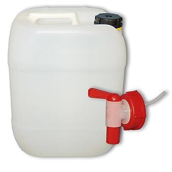 Ordentlich 20 L Wasserkanister mit Hahn, DIN 61: Amazon.de: Garten QQ18