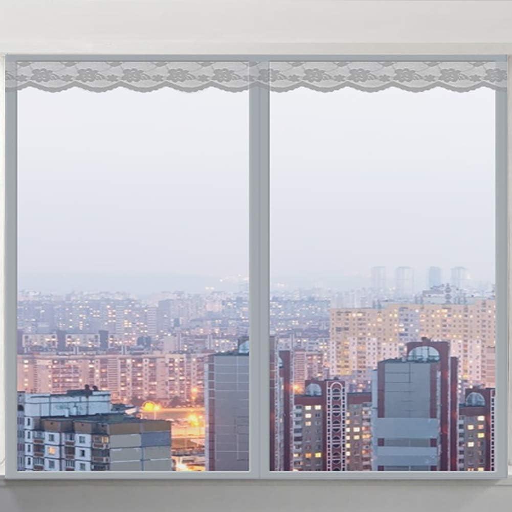 mosquitos con cinta autoadhesiva de marco completo Mosquitera magn/ética para ventana para detener insectos
