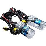 【e-auto fun】55W HB4 HIDバルブ 6000K ヘッドライト 2個セット