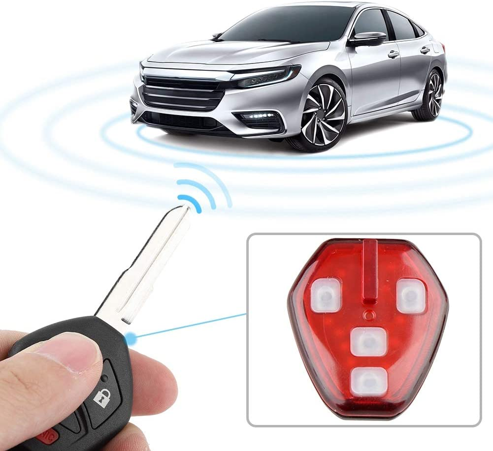 Aramox Car Key,3+1 Button Car Keyless Entry Remote Control Key with 46 Chip for Mitsubishi OUCG8D-620M-A