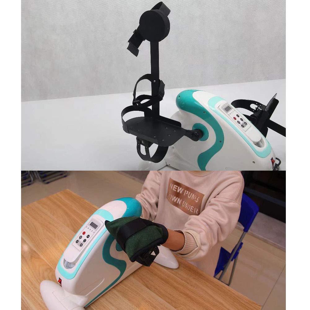DOOKK Mini Motorized Pedal Exerciser Station/äres Training Leg Peddler ction mit 12 Geschwindigkeitsstufen Geeignet f/ür /ältere Menschen zur Rehabilitation und zum Trainieren