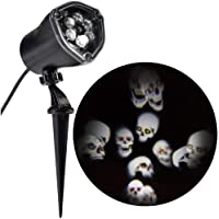 LightShow LED Projector Skull Strobe Spotlight
