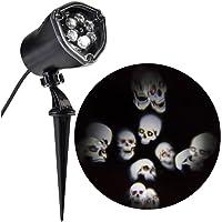 LightShow LED Projector Chasing Skull Strobe Spotlight